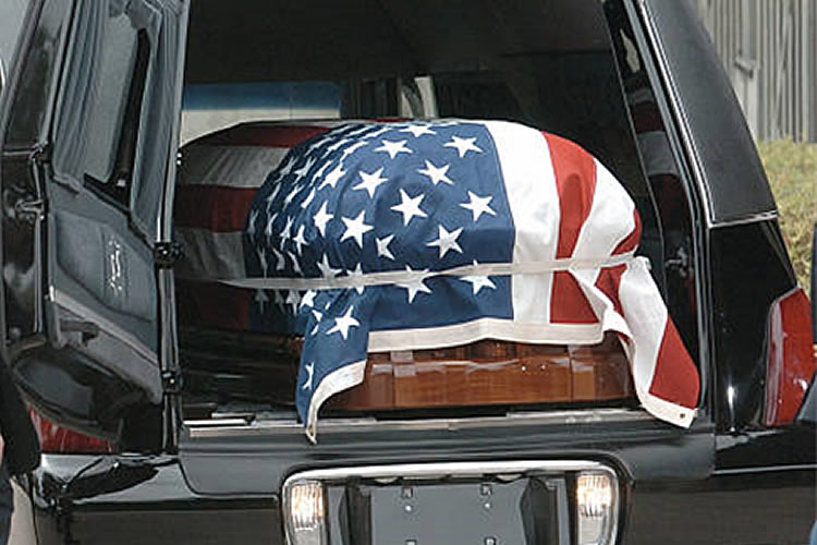 Hero's Final Tribute Funeral with Earth Burial